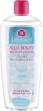 Düfte, Parfümerie und Kosmetik Mizellen Reinigungslotion für junge Haut mit Gurkenextrakt - Dermacol Aqua Beauty Micellar Lotion