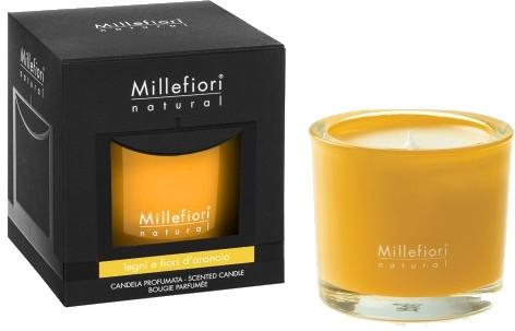Duftkerze im Glas Legni e Fiori D'Arancio - Millefiori Milano Natural Candle Legni e Fiori D'Arancio — Bild N1