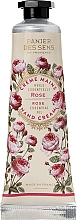 Düfte, Parfümerie und Kosmetik Handcreme Rose - Panier des Sens Hand Cream Ball Rose