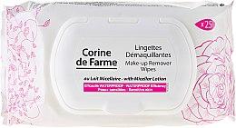 Düfte, Parfümerie und Kosmetik Feuchttücher zum Abschminken mit Mizellenlotion - Corine de Farme Wipes