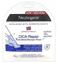 Düfte, Parfümerie und Kosmetik Feuchtigkeitsspendende Fußmaske mit Glycerin - Neutrogena Cica-Repair Foot Mask