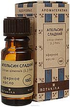 Düfte, Parfümerie und Kosmetik Ätherisches Bio Orangenöl - Botanika Orange Sweet Essential Oil