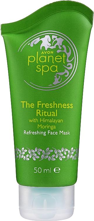 Erfrischende und kühlende Gesichtsmaske mit Pfefferminzöl - Avon Planet Spa Refreshing Face Mask — Bild N1