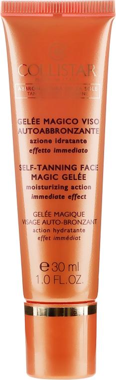 Selbsbräunungsgel für das Gesicht - Collistar Self Tanning Face Magic Gelee — Bild N2