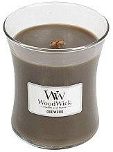 Düfte, Parfümerie und Kosmetik Duftkerze im Glas Oudwood - WoodWick Hourglass Candle Oudwood