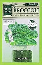 Düfte, Parfümerie und Kosmetik Gesichtsmaske mit Brokkoli - Mediental Botanic Garden Mask