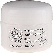 Düfte, Parfümerie und Kosmetik Anti-Aging Creme-Maske für das Gesicht - Shy Deer Natural Cream-Mask Anti-Aging (Probe)