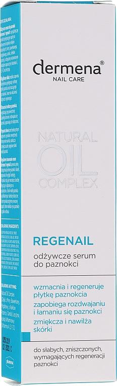 Nährendes Nagelserum - Dermena Nail Care Natural Oil Complex — Bild N1