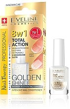 Düfte, Parfümerie und Kosmetik 8in1 Intensive Nagelpflege - Eveline Cosmetics Nail Therapy Professional Golden Shine