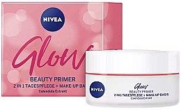 Düfte, Parfümerie und Kosmetik 2in1 Tagespflege & Make-up Basis mit Calendulaextrakt - Nivea Glow Beauty Primer 2-in-1