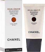 Düfte, Parfümerie und Kosmetik Pflegender Selbstbräuner für Gesicht - Chanel Precision Soleil Identite Soin Auto-Bronzant Spf 8
