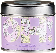 Düfte, Parfümerie und Kosmetik Duftkerze Regenbogen - Oh!Tomi Fruity Lights Rainbow Candle