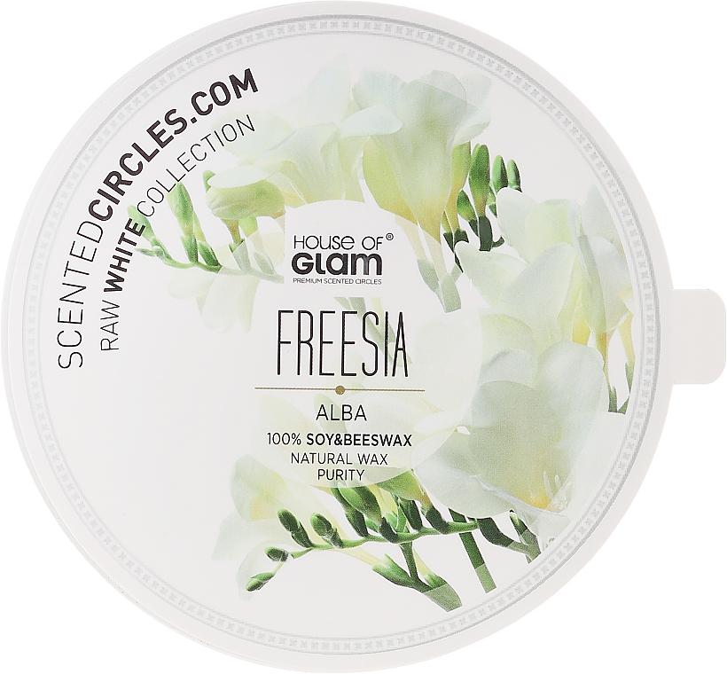 Soja-Duftkerze Freesia Alba - House of Glam Raw White Collection Freesia Alba Candle — Bild N2