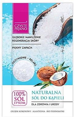 Natürliches Badesalz mit Kokosöl - Czyste Piekno — Bild N1