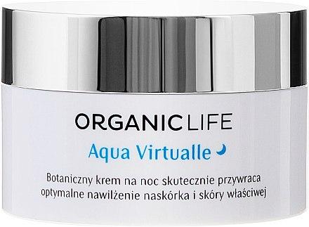 Bio fechtigkeitsspendende Nachtcreme - Organic Life Dermocosmetics Aqua Virtualle Moisturising Night Cream — Bild N2