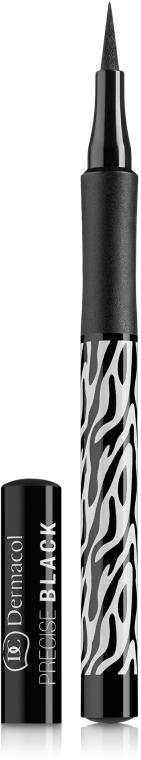 Eyeliner - Dermacol Black Sensation Precise black — Bild N1