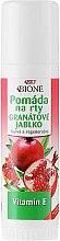 Düfte, Parfümerie und Kosmetik Lippenbalsam mit Granatapfel - Bione Cosmetics Pomegranate Lip Balm With Antioxidants