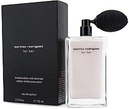 Düfte, Parfümerie und Kosmetik Narciso Rodriguez For Her Limited Edition With Atomizer - Eau de Parfum