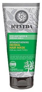 Haarmaske - Natura Siberica Iceveda Iceland Moss&Indian Amla Strengthening Herbal Hair Mask — Bild N1