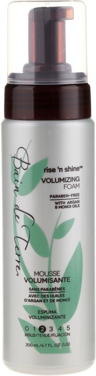 Haarschaum für mehr Volumen - Bain de Terre Rise'n Shine Volumizing Foam — Bild N1