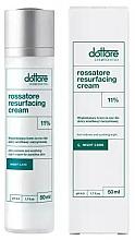 Düfte, Parfümerie und Kosmetik Glättende Nachtcreme für empfindliche und Couperose Gesichtshaut - Dottore Rossatore Resurfacing Cream