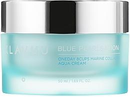 Düfte, Parfümerie und Kosmetik Gesichtscreme mit Meereskollagen - Klavuu Blue Pearlsation One Day 8 Cups Marine Collagen Aqua Cream