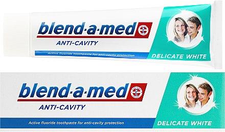 Zahnpasta Anti-Cavity Delicate White - Blend-a-med Anti-Cavity Delicate White — Bild N1