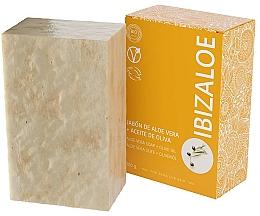 Düfte, Parfümerie und Kosmetik Seife mit Aloe Vera und Olivenöl für empfindliche Haut - Ibizaloe Aloe Vera Soap Olive Oil