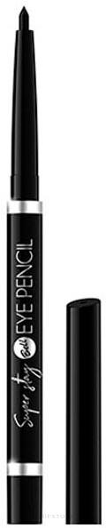 Augenkonturenstift - Bell Super Stay Eye Pencil — Bild 01 - Black