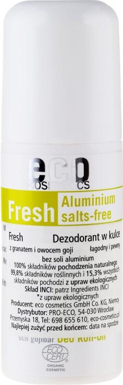 Deo Roll-on mit Granatapfel und Goji-Beere - Eco Cosmetics — Bild N1