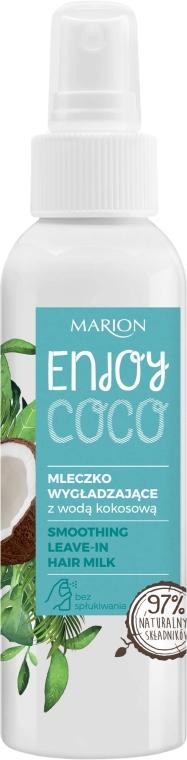 Glättende Haarmilch mit Kokoswasser ohne Ausspülen - Marion Enjoy Coco Smoothing Leave In Hair Milk