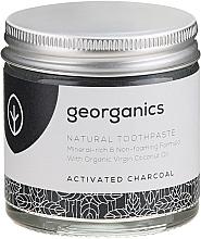 Natürliche und mineralstoffreiche Zahnpasta mit Aktivkohle - Georganics Activated Charcoal Natural Toothpaste — Bild N2