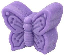 Düfte, Parfümerie und Kosmetik Handgemachte Glycerinseife Schmetterling mit Lavendelduft - LaQ Happy Soaps Natural Soap