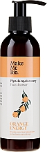 Düfte, Parfümerie und Kosmetik Reinigendes und regenerierendes Gesichtsserum mit Orangenöl - Make Me Bio Orange Energy Face Cleanser
