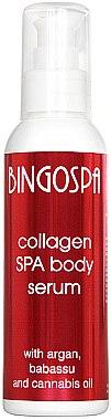 Entspannendes Kollagen-Körperserum mit Argan-, Babassu- und Hanföl - BingoSpa Collagen SPA Body Serum With Argan Oil — Bild N1