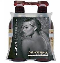 Düfte, Parfümerie und Kosmetik Haarpflegeset - Saryna Key Pure African Shea (Shampoo 500ml + Haarspülung 500ml)