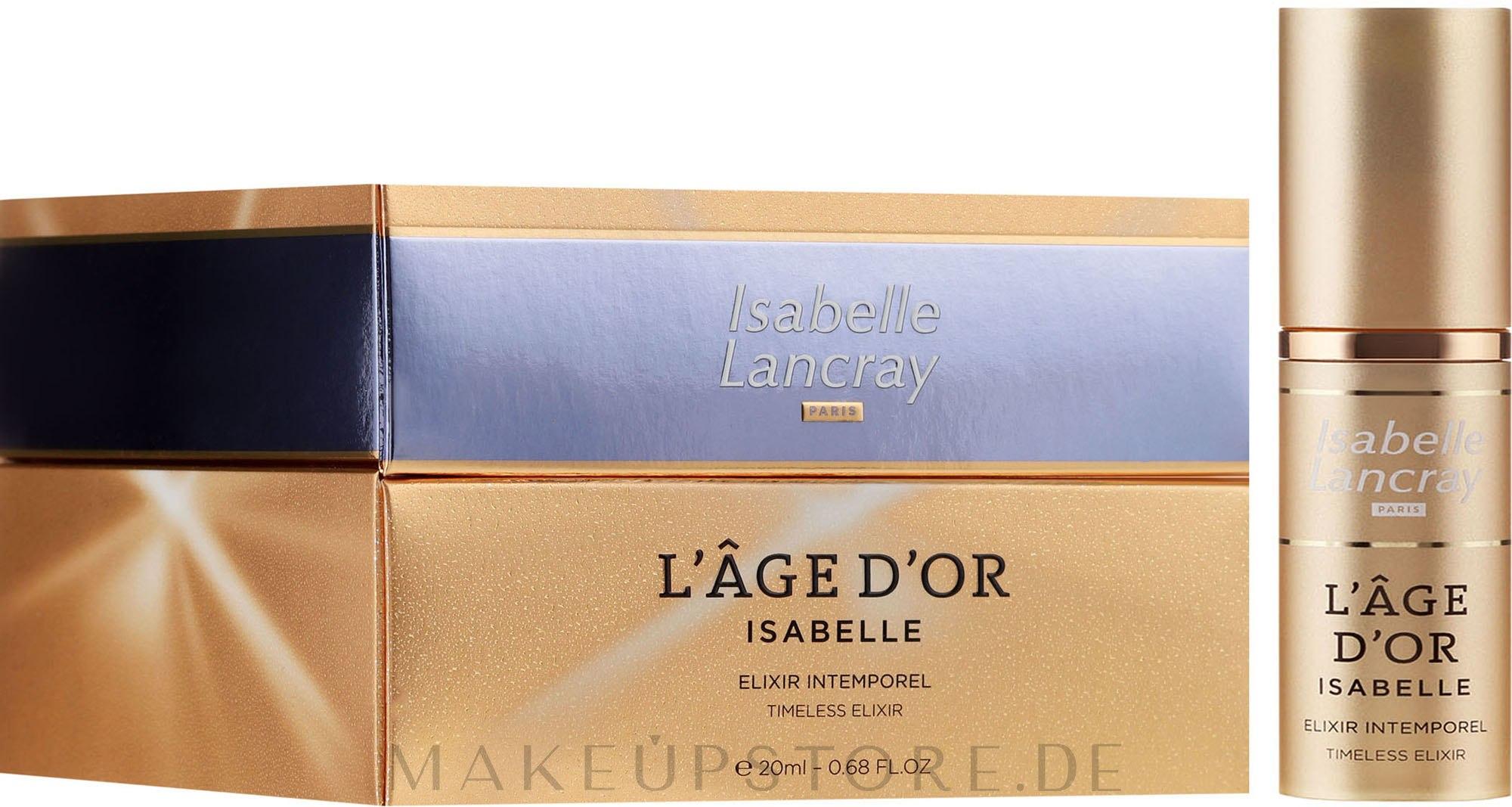 Ultimatives Anti-Age Serum für luxuriöse Pflegeansprüche - Isabelle Lancray L'Age D'Or Isabelle Timeless Elixir — Bild 20 ml