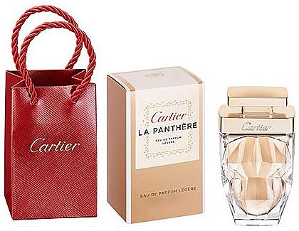 Cartier La Panthere Legere - Duftset (Eau de Parfum 4ml + Kosmetiktasche) — Bild N1