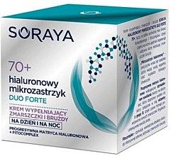 Düfte, Parfümerie und Kosmetik Regenerierende Anti-Falten Tages- und Nachtgesichtscreme 70+ - Soraya Duo Forte Face Cream 70+