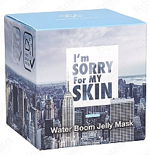 Gelee-Maske für das Gesicht - I'm Sorry For My Skin Water Boom Jelly Mask — Bild N2