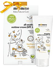 Düfte, Parfümerie und Kosmetik Hypoallergene Sonnenschutzcreme SPF 25 - Momme Baby Natural Care All Weather Outdoor Cream SPF25