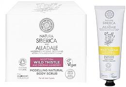 Düfte, Parfümerie und Kosmetik Körperpflegeset - Natura Siberica Alladale (Körperpeeling 370ml + Haarcreme 75ml)