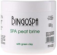 Düfte, Parfümerie und Kosmetik Torf Badesalz mit grünem Lehm - BingoSpa Brine Mud With Green Clay