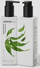 Düfte, Parfümerie und Kosmetik Pflegende Hand- und Körperlotion mit grünem Tee und Zitronenlotion - Kinetics Green Tea & Lemon Lotion