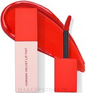 Lippentinte - Heimish Varnish Velvet Lip Tint — Bild 01 - Cherry Tomato Red