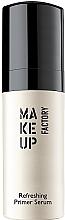 Düfte, Parfümerie und Kosmetik Erfrischender Gesichtsprimer mit Macadamia-Öl und Goji-Extrakt - Make Up Factory Refreshing Primer Serum