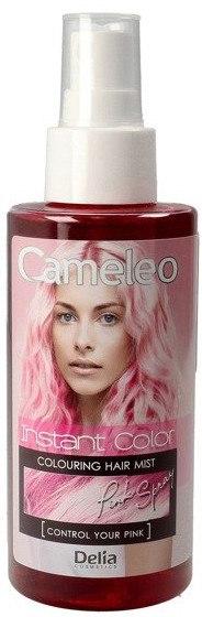 Tönung Haarspray violett - Delia Cameleo Instant Color — Bild Pink