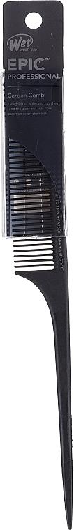 Haarkamm schwarz - Wet Brush Pro Epic Carbonite Tail Comb — Bild N1