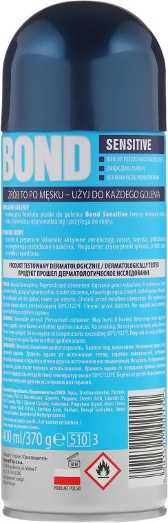 Rasierschaum - Bond Sensitive Shaving Foam — Bild N2