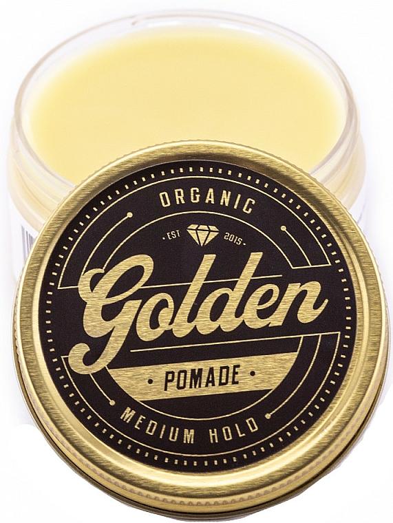 Pomade zum Haarstyling Mittlerer Halt - Golden Beards Golden Pomade — Bild N3